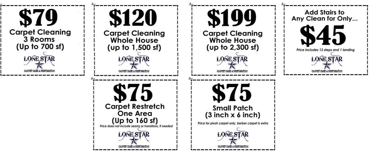 carpet cleaning coupons san antonio texas lone star carpet care